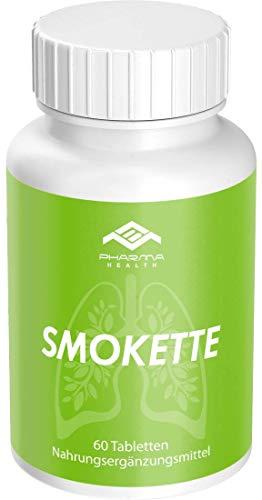 Endlich Nichtraucher | Mit dem Rauchen aufhren | Rezeptfrei | 100% natrlich | Smokette